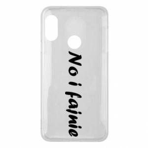 Phone case for Mi A2 Lite So cool - PrintSalon