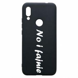 Phone case for Xiaomi Redmi 7 So cool - PrintSalon