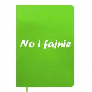 Notes No i fajnie