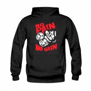 Kid's hoodie No pain No gain