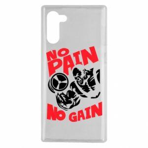 Samsung Note 10 Case No pain No gain