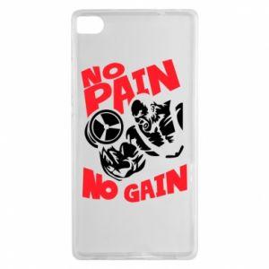 Huawei P8 Case No pain No gain