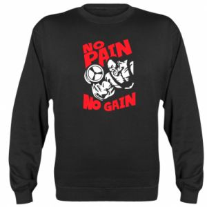 Bluza (raglan) No pain No gain - PrintSalon