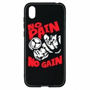 Huawei Y5 2019 Case No pain No gain