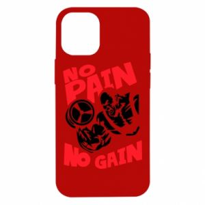 iPhone 12 Mini Case No pain No gain