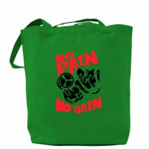 Torba No pain No gain - PrintSalon