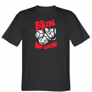 T-shirt No pain No gain