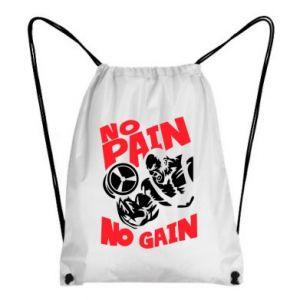 Plecak-worek No pain No gain