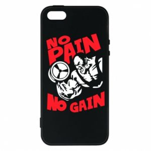 Phone case for iPhone 5/5S/SE No pain No gain