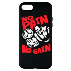 Phone case for iPhone 7 No pain No gain