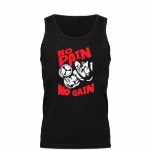 Męska koszulka No pain No gain