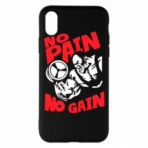 Phone case for iPhone X/Xs No pain No gain