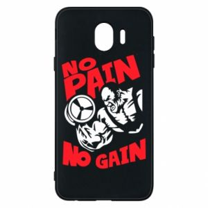Phone case for Samsung J4 No pain No gain