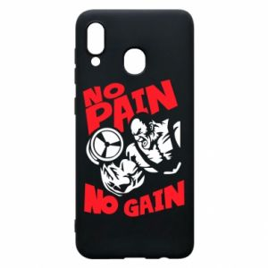 Phone case for Samsung A20 No pain No gain