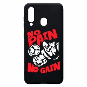 Phone case for Samsung A60 No pain No gain