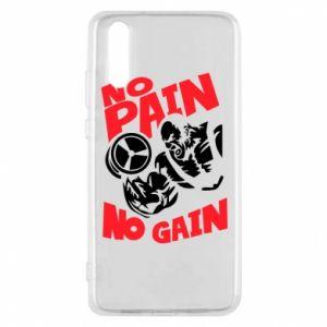 Etui na Huawei P20 No pain No gain