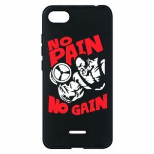 Etui na Xiaomi Redmi 6A No pain No gain