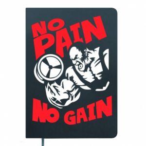 Notes No pain No gain