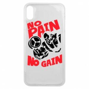 Etui na iPhone Xs Max No pain No gain