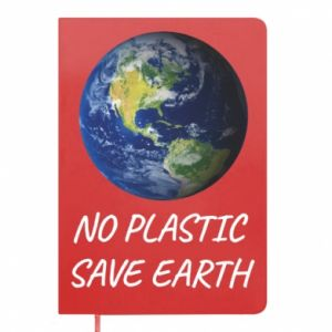 Notepad No plastic save earth