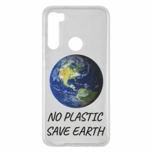 Xiaomi Redmi Note 8 Case No plastic save earth