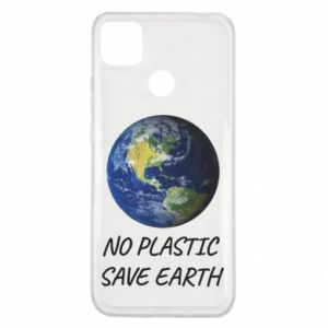 Xiaomi Redmi 9c Case No plastic save earth