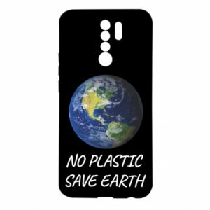 Xiaomi Redmi 9 Case No plastic save earth