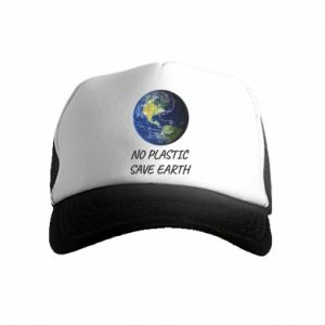 Kid's Trucker Hat No plastic save earth