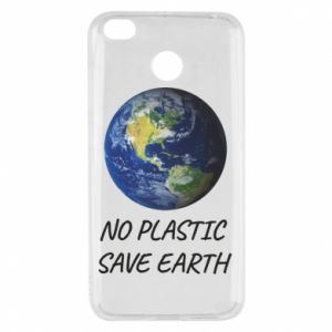 Xiaomi Redmi 4X Case No plastic save earth