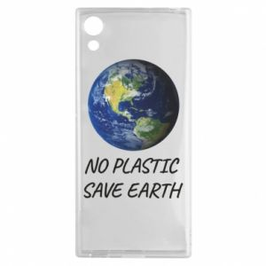 Sony Xperia XA1 Case No plastic save earth