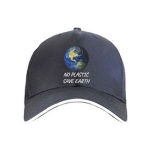 Cap No plastic save earth