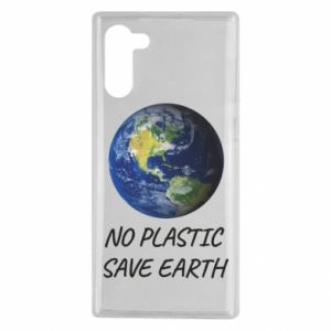 Samsung Note 10 Case No plastic save earth