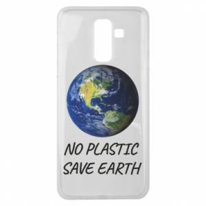 Samsung J8 2018 Case No plastic save earth
