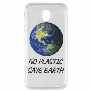 Samsung J7 2017 Case No plastic save earth