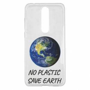 Nokia 5.1 Plus Case No plastic save earth