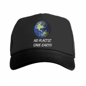 Trucker hat No plastic save earth