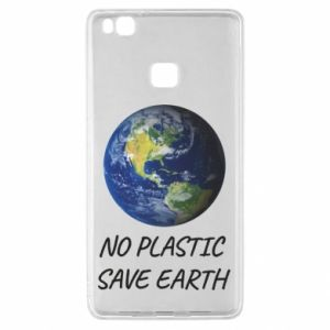 Huawei P9 Lite Case No plastic save earth