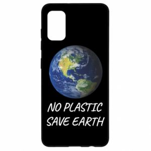 Samsung A41 Case No plastic save earth