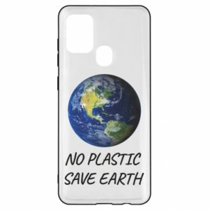 Samsung A21s Case No plastic save earth