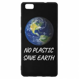 Huawei P8 Lite Case No plastic save earth