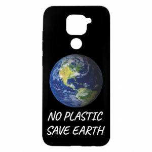 Etui na Xiaomi Redmi Note 9/Redmi 10X No plastic save earth