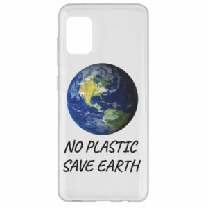 Etui na Samsung A31 No plastic save earth
