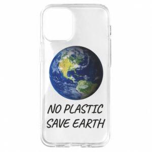 Etui na iPhone 12 Mini No plastic save earth