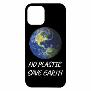 Etui na iPhone 12/12 Pro No plastic save earth