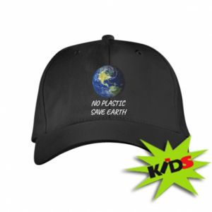 Kids' cap No plastic save earth