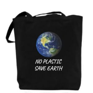 Bag No plastic save earth