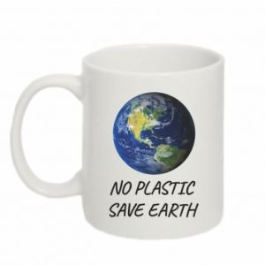 Mug 330ml No plastic save earth