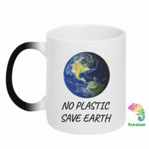 Kubek-kameleon No plastic save earth