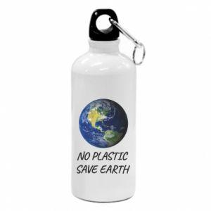Bidon turystyczny No plastic save earth