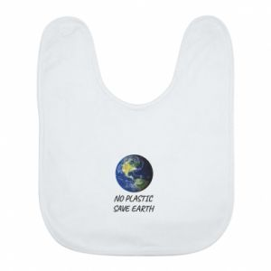 Bib No plastic save earth